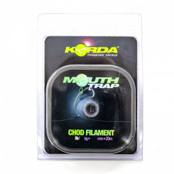 Поводковый материал Korda Mouth Trap 25lb 0,53мм 20м