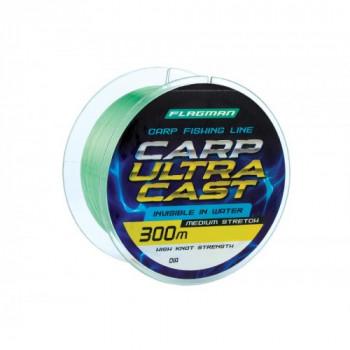 Леска Flagman Carp Ultra Cast 300м 0,30мм