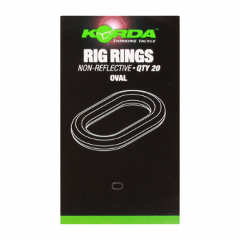 Кольцо стальное овальное Korda Rig Ring Large Oval