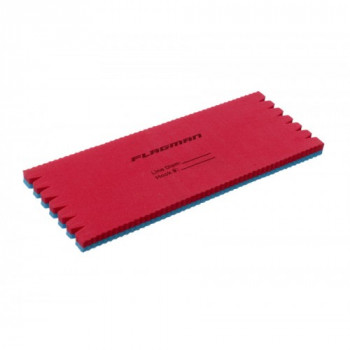 FLAGMAN Мотовило для поводков и оснасток Eva Rig blue-red 15х6х0,8см
