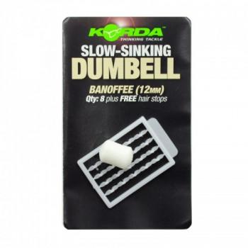 Имитационная приманка Korda Dumbell Slow Sinking Banoffee 12 mm