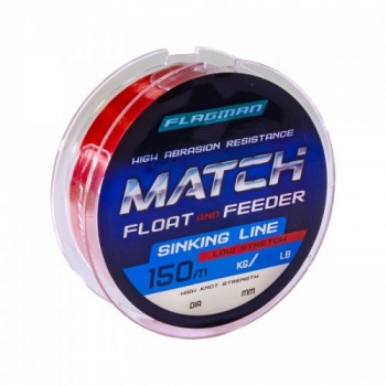 Леска Flagman Match And Feeder Sinking Line 150м 0,22мм