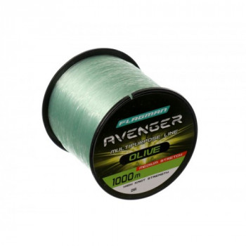 Леска Flagman Avenger Olive Line 1000м 0,30мм