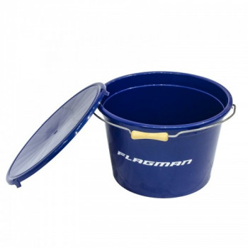 FLAGMAN Ведро с крышкой 25л синее
