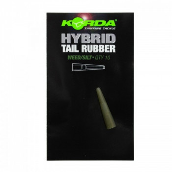 Конус для безопасной клипсы Korda Hybrid Tail Rubber Weed/Silt