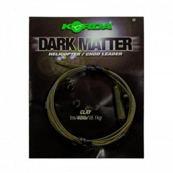 Готовый монтаж Korda Dark Matter Leader Heli Clay 40lb