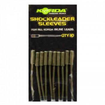 Вставка для in-line грузов Korda Shockleader Sleeves Weedy Green
