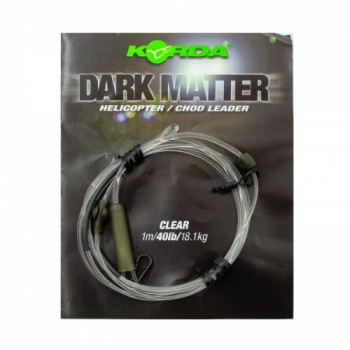 Готовый монтаж Korda Dark Matter Leader Heli Clear 40lb