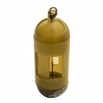 FLAGMAN Кормушка фидерная для опарыша пластиковая средняя 30г