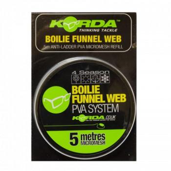 Сетка PVA запасная Korda Boilie Funnel Web Micromesh 5m