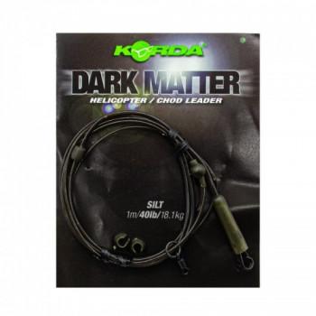 Готовый монтаж Korda Dark Matter Leader Heli Silt 40lb