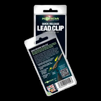 Безопасная клипса Korda Quick Release Lead Clips Clay/Gravel