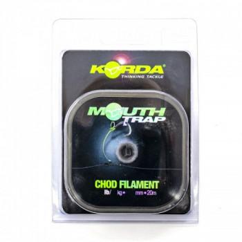 Поводковый материал Korda Mouth Trap 15lb 0,43мм 20м