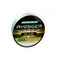 Леска Flagman Avenger Olive Line 100м 0,35мм