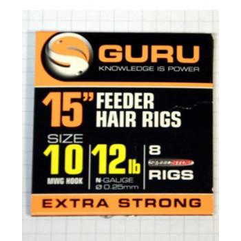 Поводки Guru Ready Rigs With Speed Stops 38cm - roz.10