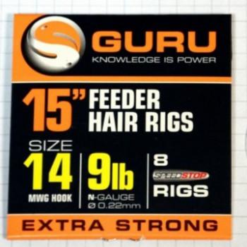 Поводки Guru Ready Rigs With Speed Stops 38cm - roz.14