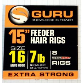 Поводки Guru Ready Rigs With Speed Stops 38cm - roz.16