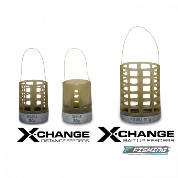 Кормушка Guru X-Change Distance Feeder Cage Large 20гр + 30гр