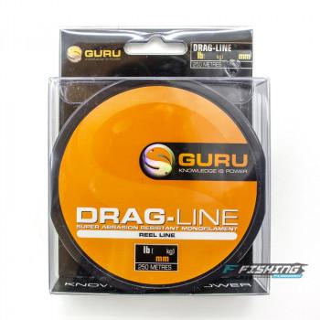 Леска Guru Drag Line 0,25мм 250м