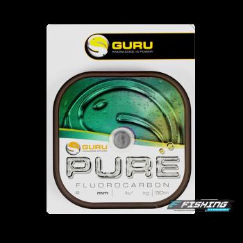 Леска флюорокарбоновая Guru Pure Fluorocarbon 0,10мм 50м