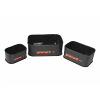 Комплект контейнеров / ёмкостей для рыбалки из EVA (set 3) - 3шт