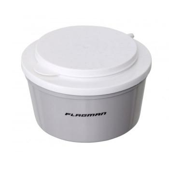 Коробка Flagman для наживки круглая 1л