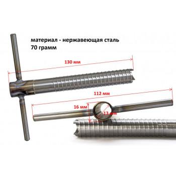 Ввертыш (неподвижная ручка,16х1,5х130 мм)