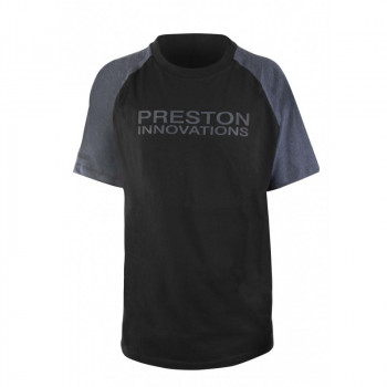 Футболка Preston Black T-Shirt - roz.L