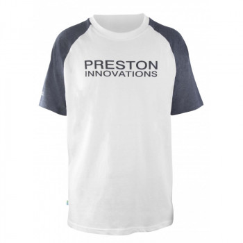 Футболка Preston White T-Shirt - roz.L