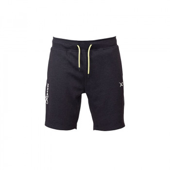 Брюки Matrix Minimal Black Marl Jogger Shorts - roz. L