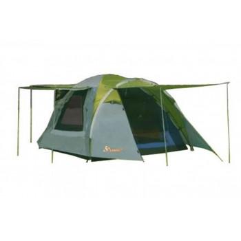 Палатка туристическая 3-х местная с 2 входами LANYU LY-1707