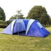 Палатка туристическая 2 комнаты 4-местная 1699