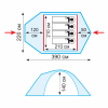 Tramp палатка Space 4 (V2)