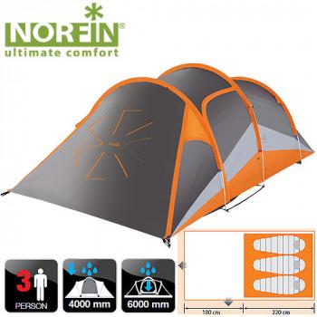 Палатка алюминиевые дуги 3-х местная Norfin HELIN 3 ALU NS