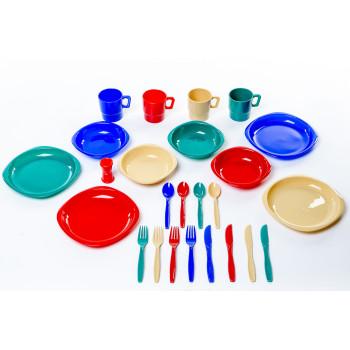 Tramp набор посуды пластиковой (4 персоны) TRC-053