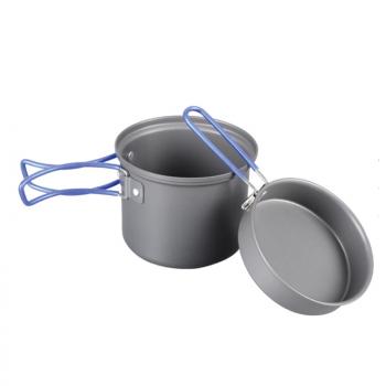 Tramp котел с крышкой-сковородой из анодированного алюминия