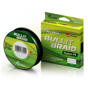 "Шнур плетёный ALLVEGA ""Bullit Braid"" 135м 0,14мм (8,4кг)"