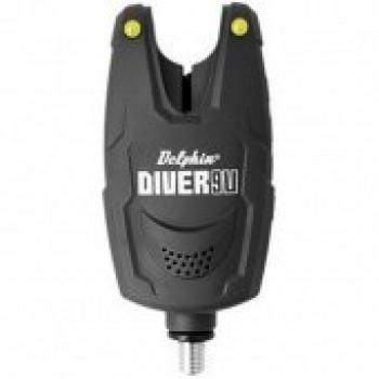 Cигнализатор поклевки Delphin DIVER Bite Alarm - Yellow