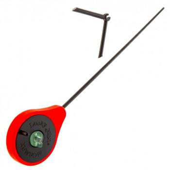 Удилище зимнее LUCKY JOHN Mormax 24.6 см, катушка 45 мм, цвет красный, арт. LJ103-02