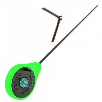 Удилище зимнее LUCKY JOHN Mormax 24.6 см, катушка 45 мм, цвет зеленый, арт. LJ103-03