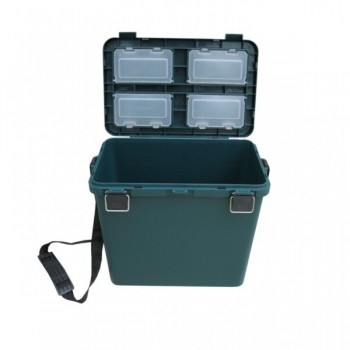 Ящик зимний односекционный, пластиковый 380х320х26