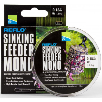 Леска Preston Innovations REFLO® SINKING FEEDER MONO - 150m / 0.23mm / 2.72kg