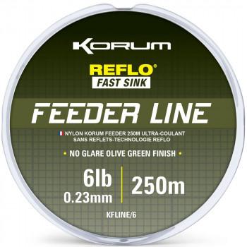 Леска KORUM FEEDER LINE MONO - 250m / 0,23mm / 2.72kg