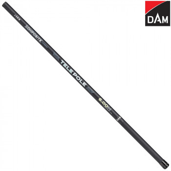 Удилище маховое DAM® COMPOSITE CARBON TELE POLE - 7.00m