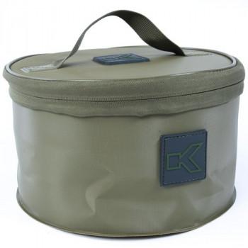 Ведро мягкое с крышкой + сито KORUM EVA Groundbait & Riddle Set / 25x15cm