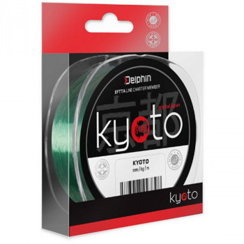 Леска моно Delphin KYOTO Feeder Line / 300m - 0.234mm - 10,3lb(4.67kg) - Green