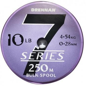 Леска DRENNAN S7 CARP & SILVERFISH Mono - 250m / 0.30mm / 5.45kg
