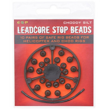 Бусина-стопор E-S-P Leadcore Stop Beads - Weedy Green - 20шт.