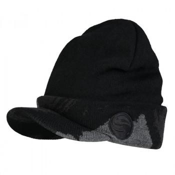 шапка Guru Black Peak Beanie