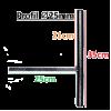 Комплект переходников для обвеса d25 к креслам FK5, F5R, FK6